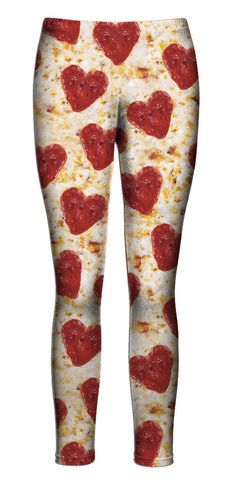 Pizza Hearts Leggings