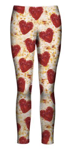Pizza Hearts Leggings