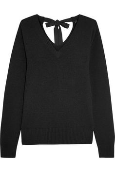 Joseph - Tie-back Cashmere Sweater - Black -