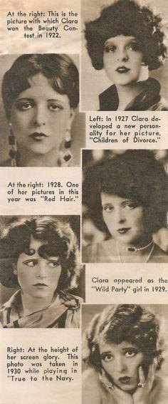 Clara Bow. She had a very interesting life!