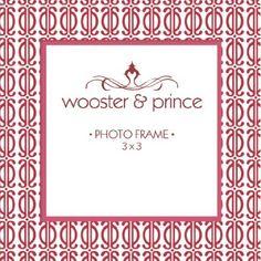 Wooster and Prince Delhi Dot Photo Frame  #WhimsicalUmbrella #Photo #Frame #HomeDecor #Gift whimsicalumbrella.com