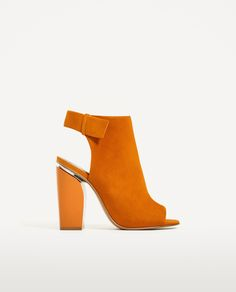 SLINGBACK LEATHER ANKLE BOOTS - Available in more colours