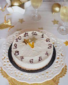 Cheesecake allo Spumante Senza Cottura, Dolce di Capodanno perfetto per stupire i vostri ospiti al cenone di San Silvestro! Countdown Cake