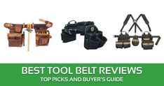 Best-Tool-Belt-Reviews Best Tool Belt, Hyun Soo, Handle, Good Things, Pockets, Tools, This Or That Questions, Diy, Stuff To Buy