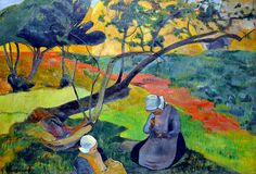 Paul Gauguin was a French born painter. He was born in 1848 and died in 1903. He is best known for his connection to the Post Impressionis...