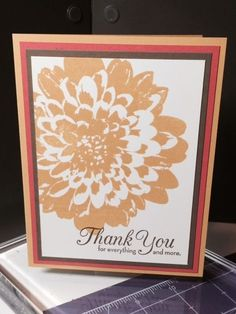 Stampin' Up! Definitely Dahlia, One Big Meaning by jadoherty - Cards and Paper Crafts at Splitcoaststampers