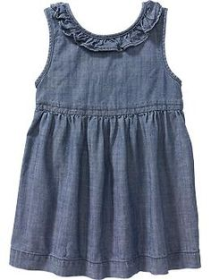 chambray dress infants - Google Search