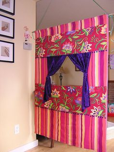 Puppet theater. I want to make the girls one for Christmas.