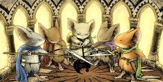 mouse guard, david petersen