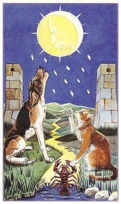 The Tarot of Pagan Cats deck  by Lola Airaghi & Magdelina Messina