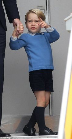 Curious George points something out to his father Prince George Alexander Louis, Prince William And Catherine, Prince Phillip, Prince Charles, George Of Cambridge, Duchess Of Cambridge, Princess Kate, Princess Charlotte, Duchess Kate