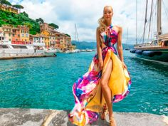 The Signature Zlata Moda silk dress, Odessa, worn by Karelea Mazzola Now available in other prints!