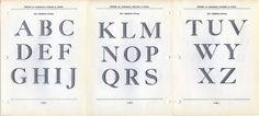 Georgian Initials Type Specimen by Dunwich Type, via Flickr