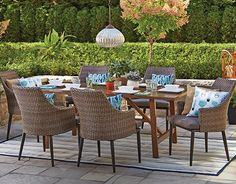 Every piece in the CANVAS Outdoor Living Collection is sold separately. Style it your way with the CANVAS Seabrooke chair