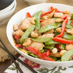 Cashew Chicken |easy stir fry chicken recipe