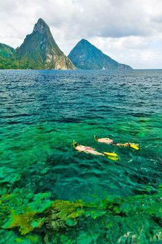 St. Lucia | Spectacular offshore snorkeling, sailing, sea kayaking, and scuba diving make your journey through this Caribbean hotspot one to remember.