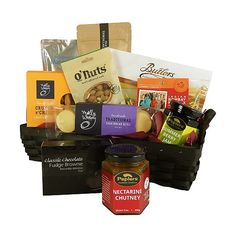 Classic Gourmet Gift Basket - New Zealand Delivery - Bestow Gifts