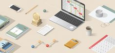 In close collaboration with Stinkdigital we developed a series of illustrations and icons for their new website.