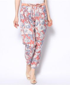 UNITED ARROWS Style for Living | flower-print pants
