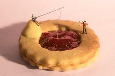 #sweet #biscotti #cake #miniature #food #art #arredamento #design #interiordesign #print #foodporn #pescatore #fish #sea #confetture #negozio #pasticceria #ricetta #creare #fantasia #fantasy #funfood