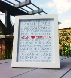 wedding shower gift idea. cute, however there is a mistake....he-man and she-ra are brother and sister, NOT lovers.
