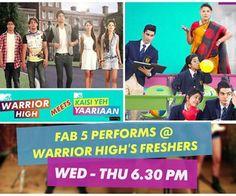 #mashup #of #fab 5 nd #mtv #warrior high <3 cool kaisi yeh yaariyan