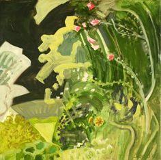 """Lois Dodd, """"Garden Corner"""" (2009) (Image © Lois Dodd, courtesy Alexandre Gallery, New York)"""