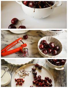 Cherry Clafoutis Savoury Dishes, Food Dishes, Cherry Clafoutis, Fruit, Recipes, The Fruit, Food Recipes, Rezepte, Recipe