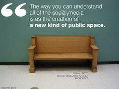 Social media is a new kind of #public #space  #BestSEO #socialmedia