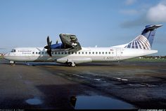 ATR ATR-72-212 aircraft picture. Waiting for a paint. Later leased to Origin Pacific Airways and now its with United Airways as S2-AFE.