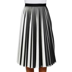 PROENZA SCHOULER Wool pleated skirt (47 575 UAH) ❤ liked on Polyvore featuring skirts, black and white pleated skirt, wool skirt, midi skirt, pleated skirt and high-waisted midi skirts Midi Skirts, Wool Skirts, White Pleated Skirt, Proenza Schouler, Red Gold, Color Pop, Bodice, Costumes, Black And White