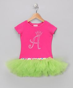 Take a look at this Pink Personalized T-Shirt Tutu - Infant, Toddler & Girls by T-Shirt Tutus on #zulily today!