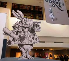 Alice's Adventures in Wonderland (commonly 'Alice in Wonderland') is 150 years old this year. To mark the occasion the British Library is hosting an exhibition about all things Alice and her fantastical world.