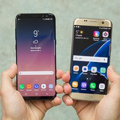 Samsung Galaxy S8 vs S7 Edge Samsung Galaxy S8 vs S7 EdgeIt does not take much to understand what makes the Galaxy S8 special. The moment you see that nearly bezel-less screen your most likely reaction will be a simple wow!Photos:
