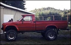 1983 Toyota pickup 4X4…..The model and year that started my love affair with Yota's
