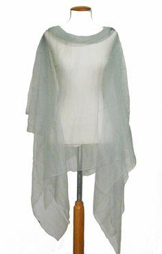 blusón de gasa de seda natural de JULUNGGUL by JUlia Munilla. Hecho en España