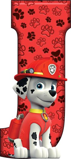 J Paw Patrol - Marshall Baby Boy Birthday, 1st Birthday Parties, 3rd Birthday, Paw Patrol Cake, Paw Patrol Party, Paw Patrol Birthday Theme, Cumple Paw Patrol, Fireman Party, Rhymes For Kids