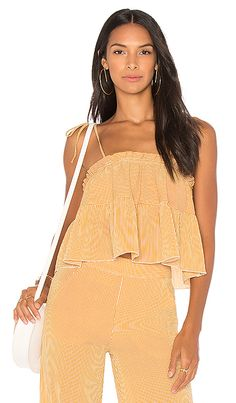 Shop for Jen's Pirate Booty Ambala Cami in Turmeric & White Stripe at REVOLVE. Free 2-3 day shipping and returns, 30 day price match guarantee.
