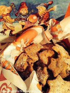 Biscottini con gocce di cioccolato e mandorle
