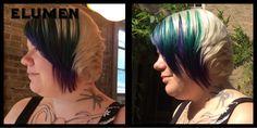 Elumen peacock Cut And Color, Peacock, Hair Cuts, Dreadlocks, Colors, Hair Styles, Beauty, Haircuts, Beleza