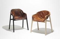 Nikolaj Steenfatt's Hardened Leather Chair