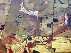 Western Australian landscape from the air