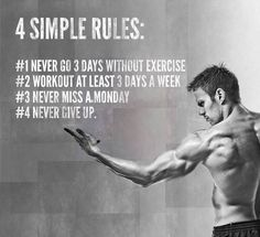 Four simple rules.