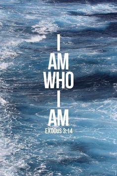 Exodus 3:14 KJV  And God said unto Moses,I Am That I Am: and he said, Thus shalt thou say unto the children of Israel,I Amhath sent me unto you.