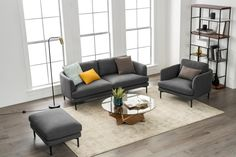 What Sofa Should You Get Based on Your Home's Style? 2 Seater Sofa, Modular Sofa, Dining Room Furniture, Sofa Design, Home Living Room, Interior Design Living Room, Loft Ideas, House Styles, Home Decor