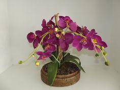 Arranjo artificial de orquídea