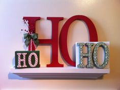 Ho Ho Ho Christmas Decor | The Wood Connection Blog