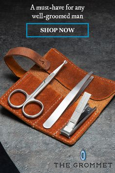 Just-for-men grooming tools help you look your best. TSA-approved (and made for a lifetime) so you can take the tweezers, clippers, and trimmer anywhere with you. Best Affordable Hair Dryer, Hair Dryer Brands, The Clipper, How To Trim Eyebrows, Grooming Kit, Male Grooming, Tool Roll, Just For Men, Pen Case