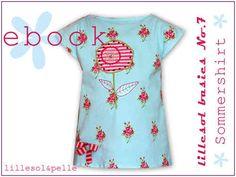 Ebook / Schnittmuster lillesol basics No.7 Sommershirt