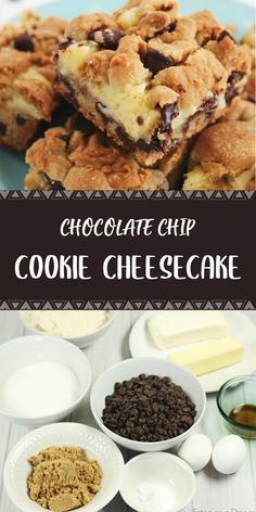 Savory magic cake with roasted peppers and tandoori - Clean Eating Snacks Chocolate Chip Cookie Cheesecake, Cheesecake Cookies, Cheesecake Recipes, Chocolate Chip Cookies, Cookie Recipes, Dessert Recipes, Chocolate Chips, Brownie Recipes, Mini Desserts